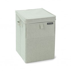 """Brabantia 120466 35L Green Stackable Laundry Box 2YW """"O"""""""