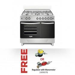 Xper XP9PG41E3 Cooker & Free BBILLIONS LPG Regulator