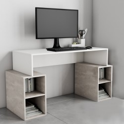 Buga Office Desk 2 Shelves W/Board Thickness 15mm