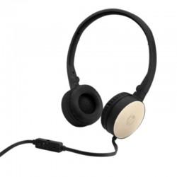 HP Headphone H2800 Silk Gold