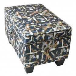 Elson Ottoman In Fabric