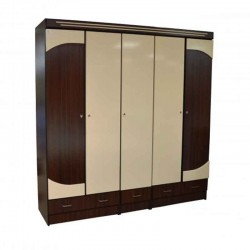 Coaster Iris Wardrobe 5 Doors