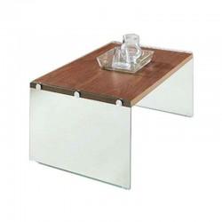 Bally Coffee Table Metal & Glass Top White