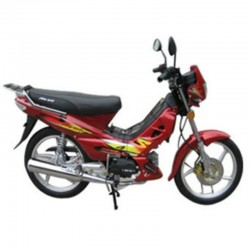 New Way NW-50 50CC Red Moped