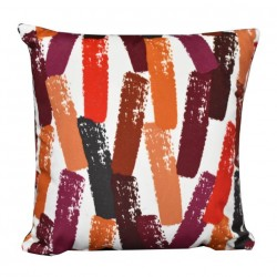 Rush Hour Accent Cushion Red