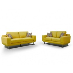 Shine Delance sofa 3+2 in Fabric Milford Apric
