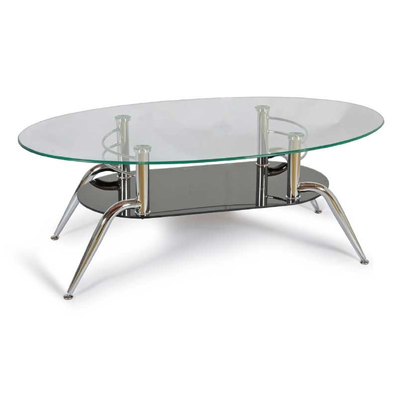 Elly Coffee Table Metal/Glass