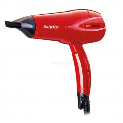 Babyliss D302RE Expert Fryer 2000W Red Hair Dryer