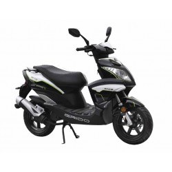 New Way SS50QT-H Black 50cc Scooter