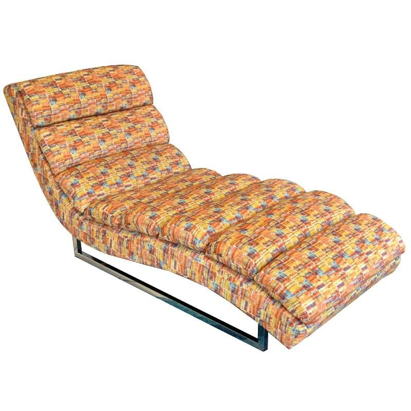 Russo Chaise Gaya Persi Colour Fabric