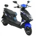 Speedway JS-1 Black/Blue Electric Bike