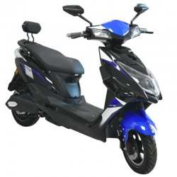 Speedway JS-1 Black/Blue Electric Bike