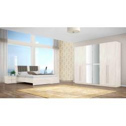 Copacabana Bedroom Set 160x200 cm Grey