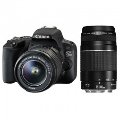 Canon EOS 200D  Double Zoom Kit Kit(18-55+75-300)