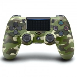 Sony PS4 Dual Shock Controller Green Camo