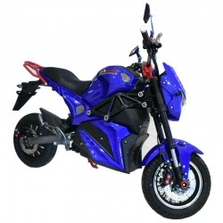 Speedway A12 2000 Watts Blue Electric Bike