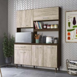 Yara 140 Kitchen Unit Almond Rustic PB