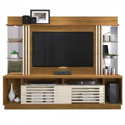 Frizz Gold High TV Cabinet Natural PB