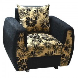 Melrose Accent Chair Black