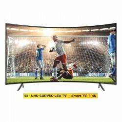 "Samsung UA55RU7300KXKE 55"" UHD Curved Smart LED TV"