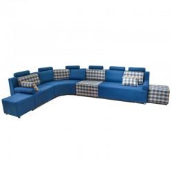 Hebden Sofa Corner Blue