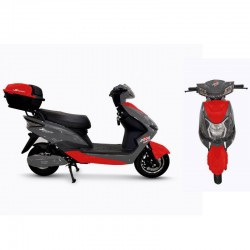 Speedway E7 Grey/Red 2000 Watt Electric Bike