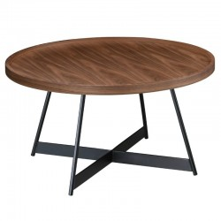 Dublin Coffee Table Walnut & Black