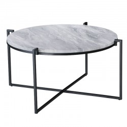 Crowny Coffee Table White MDF T.Top