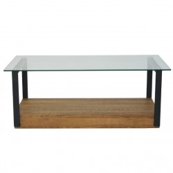 Majela Coffee Table Glass Top