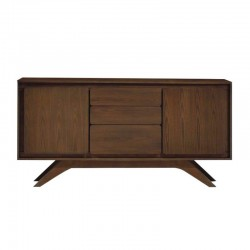 Nico Sideboard Walnut Rubberwood & MDF