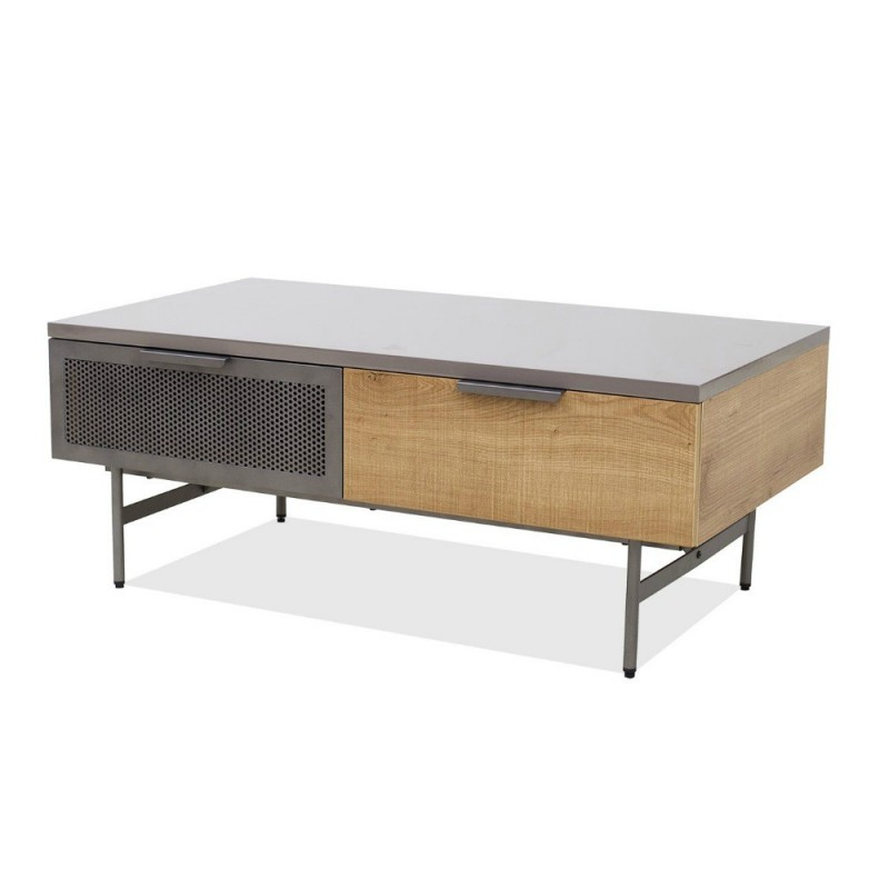 Lucca Coffee Table Grey/Brown PB