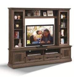 Scarlette High TV Cabinet Hazel Walnut PB
