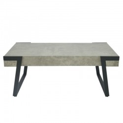Vetro Coffee Table MDF & Metal Tube