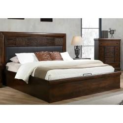 Saria Bed 180x200 cm Brown...