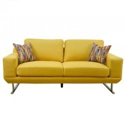 Delance sofa 3+2 in Fabric Milford Apric