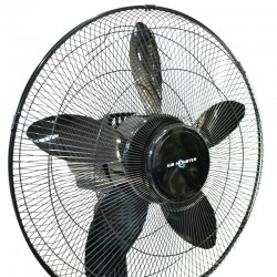 Air Monster 15732R MG 18'' (45cm) Black Stand Fan