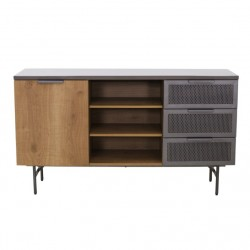 Lucca Sideboard Stone & Brown Colour PB