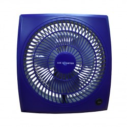 "Air Monster 15729 9"" Blue Personal Fan"