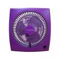 """Air Monster 15729 9"""" Purple Personal Fan"""