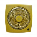 """Air Monster 15729 9"""" Yellow Personal Fan"""