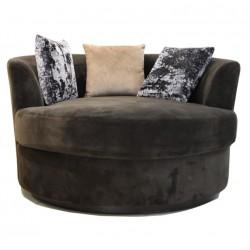 Keywest RM Cuddler Chair Brown
