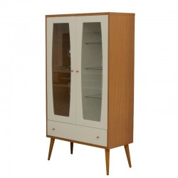 Liv Buffet Off-White/Natural Particle Board