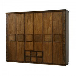 Zanne 6-Door Wardrobe