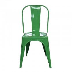 Fabio Chair Green Finish