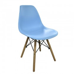 Grace Chair Blue PP Seat