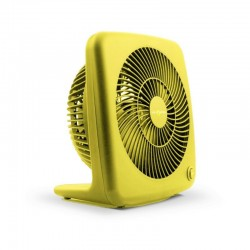 "Air Monster 15827 7"" Yellow Personal Fan"