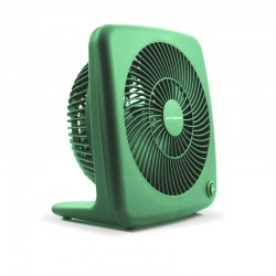 "Air Monster 15827 7"" Green Personal Fan"