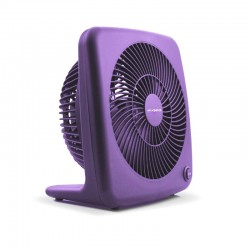 "Air Monster 15827 7"" Purple Personal Fan"
