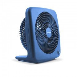 "Air Monster 15827 7"" Blue Personal Fan"