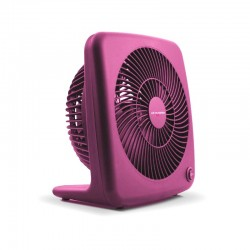 "Air Monster 15827 7"" Pink Personal Fan"